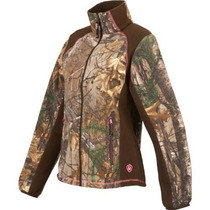Chamarra-sudadera-chaqueta Mujer-cazeria-camuflaje-caza-