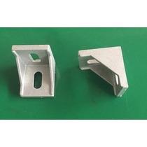 Escuadras Para Perfil Industrial De Aluminio Serie20x20