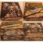 Caja Madera Vintage Shabby 11cm Bolo Recuerdo Regalo Moderno