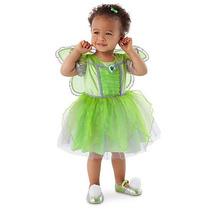 Disfraz Tinkerbell Bebe Campanita Disney Store Vestido