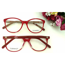 Armação Óculos De Grau Feminino Acetato Ch3213