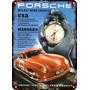 Carteles Antiguos De Chapa Gruesa 60x40cm Porsche Au-471