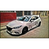 Par Estribos Laterales Mazda 3 2014/2016