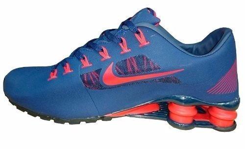 competitive price a8d72 57a6d ... nike shox superfly r4 azul marinho e vermelho ...