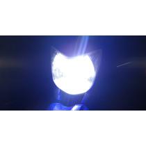 Lâmpada Farol Super Led 6000k Efeito Xenon Fazer Cb300 Next