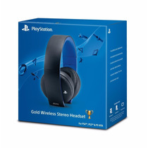 Headset Sony Gold Wireless 7.1 Ps4 Ps3 Oferta Local