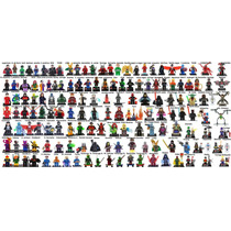 Lego Boneco Dc Avengers Herois Xmen Marvel Vingadores