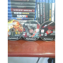 Devil May Cry 1+metal Gear Solid 2+mercenaries 2 + Frete