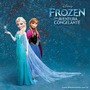 Frozen Fantasia Vestido Infantil Festa Roupa Criança Menina