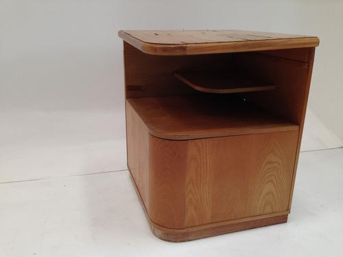 Mueble esquinero de madera enchapado en melamina 599 for Mueble esquinero de melamina