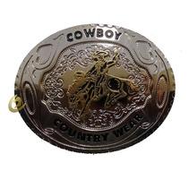 Fivela Country Wear Cowboy Rodeio Adulto Para Cinto