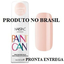 Nails Inc Paint Can - Esmalte Em Spray - Nude (rosa Claro)