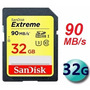 Cartão Sandisk Sdhc Extreme 90mb/s 32gb Classe10 Full Hd 3d