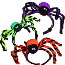 3 Diademas Arañas - Dia De Muertos Y Halloween
