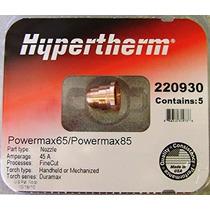 Hypertherm Powermax 65 Y 85 Boquillas De Corte Fino 220930