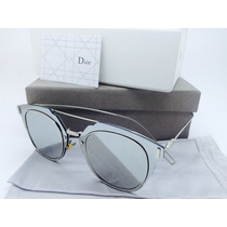 Lentes De Sol Christian Dior Composit 1.0 Gold, Silver,black