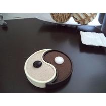 Yin Yang Precioso Arenero De Cerámica