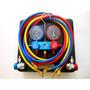 Manifold Automotivo Ar Condicionado R134a Maleta 1.5m Eos
