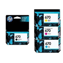 Hp 670 Color Cz113al Cz114al Cz115al Cz116al
