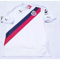 Jersey Oficial Chivas Guadalajara 2016-2017 Puma Visita Blan
