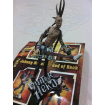 Figura Guitar Hero Johnny Napalm Como Nueva Con Blister