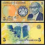 Billete De Lesotho 5 Maloti Año 1989<br><strong class='ch-price reputation-tooltip-price'>$ 2.700</strong>