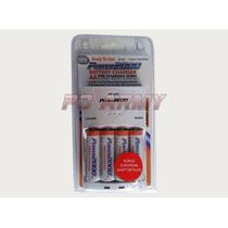 Cargador De Baterías Para Pilas Aa 110/220 Universal Xp-423