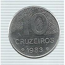Brasil 10 Cruzeiros 1983