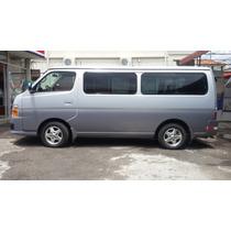 Microbus Nissan 12 Pasajeros Perfecto Estado Casi Nueva Poco