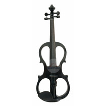 Violino Elétrico C/ Case Arco Preto Sverve Profissional 4/4