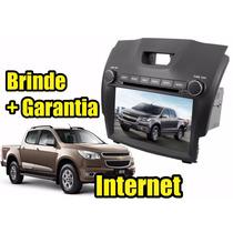 Kit Central Multimidia Nova S10 Blazer Gps Dvd 3g Cam Ré Tv