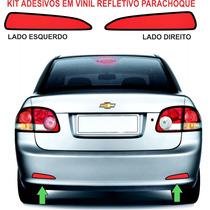 Acessorio Refletivo Parachoque Adesivo Classic Chevrolet