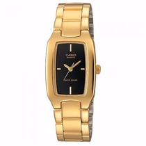 Reloj Casio Ltp-1165n-9b | Gold Tone | Watchito