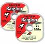 Linha Mono. Super Raiglon 0,23mm 5,98kg Rolo 100m