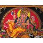 Mural De Tela Dios Ganesha Importado De India