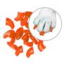 ¡ Protector De Uñas Para Gatos Nails Caps-naranja - T.s !!
