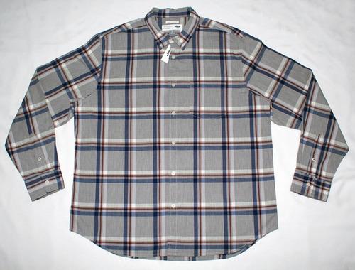 8322f2c1030 Camisa Para Caballero Old Navy Manga Larga A Cuadros -   490.00 en Mercado  Libre
