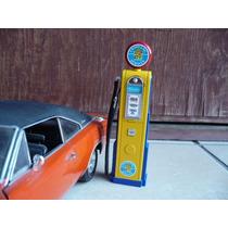 Bomba Gasolina Diorama 1/18 Cadillac Yatming Coleccion