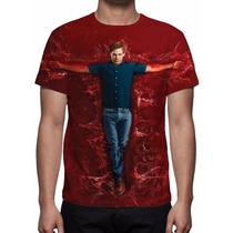 Camisa, Camiseta Série Dexter - Estampa Total