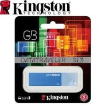 Pen Drive 16gb Kingston 2.0 Azul Original Sellado Blister