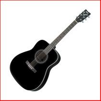 Guitarra Acustica Yamaha F370bl - Tipo Guitarron- En Palermo