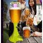 Dispensador Licor Cerveza Lampara Led Recipiente Hielo 1.5 L