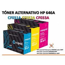 Tóner Alternativo Hp 646a Cf031a Cf032a Cf033a, Garantizados