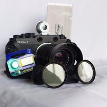 Voigtlander Bessa-t / Leica Elmar C F4 90mm / Kit