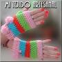 Guantes Tejidos Al Crochet Con Lana Ecológica
