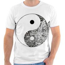 T Shirt, Camisa, Camiseta - Simbolo Yin Yang Paz