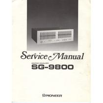 Pioneer - Equalizador - Sg-9800