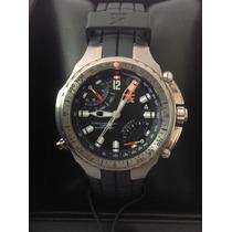 Reloj Timex Tx Ed. Lujo. Cuarzo. Crono. Brújula. Titanium.