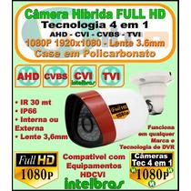 Câmera Full Hd 1080p 4 Em 1 Cvbs Ahd Hdcvi Tvi Intelbras Ok