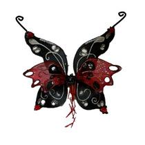 Alas Para Disfraz De Hada Negra Vampiro Diablo Envio Gratis